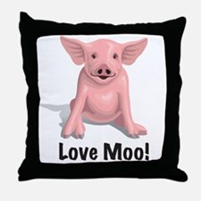 518 Pig Throw Pillow