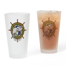 Manatee Division Color Logo Drinking Glass
