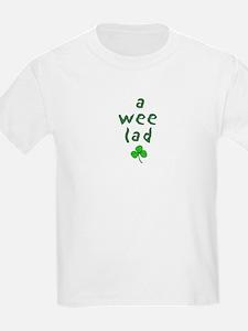 a wee lad Kids T-Shirt