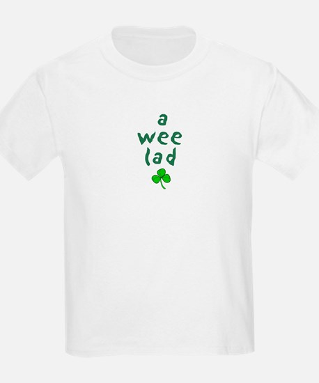 a wee lad Kids T-Shirt