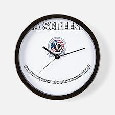 TSA_Screener Wall Clock