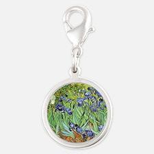 Irises by Vincent van Gogh Charms