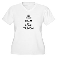 Keep Calm and Love Trevon Plus Size T-Shirt