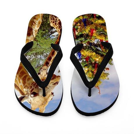 giraffe4cropsmall Flip Flops