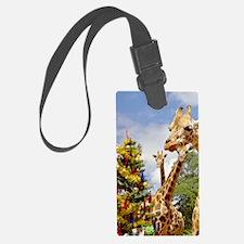 giraffe4cropsmall Luggage Tag