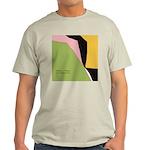Surf Design V Ash Grey T-Shirt