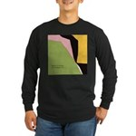 Surf Design V Long Sleeve Dark T-Shirt