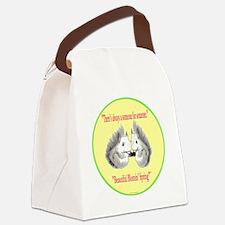 Someone yellSquirrel PNG16b 10x10 Canvas Lunch Bag