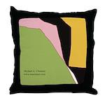 Surf Design V Throw Pillow