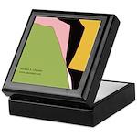 Surf Design V Keepsake Box
