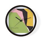 Surf Design V Wall Clock