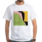 Surf Design V White T-Shirt
