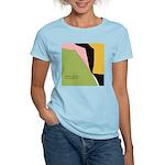Surf Design V Women's Pink T-Shirt