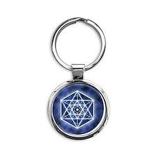 Sirius ornament Round Keychain