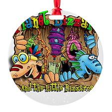Bizzaro T design Ornament