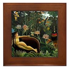 rousseau-1050 Framed Tile