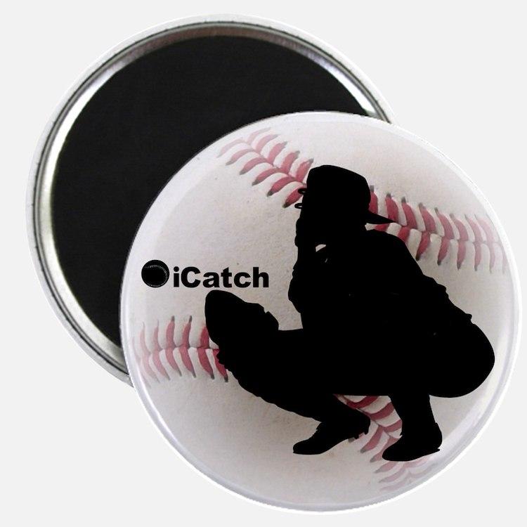 iCatch Baseball Magnet