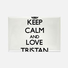 Keep Calm and Love Tristan Magnets