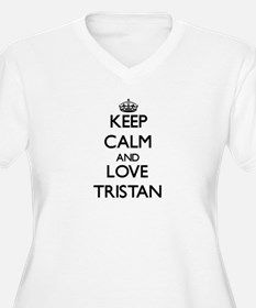 Keep Calm and Love Tristan Plus Size T-Shirt