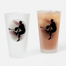 iPitch Baseball Drinking Glass