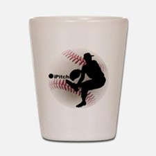 iPitch Baseball Shot Glass