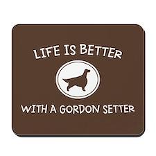 Gordon Setter Mousepad