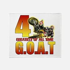 The Goat Throw Blanket