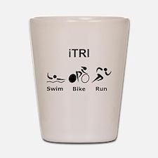 iTRI Black Shot Glass