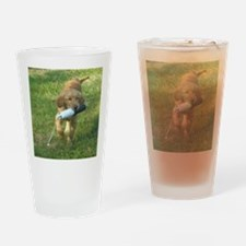 puppy bumper 60 Drinking Glass