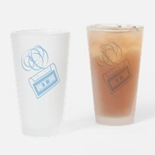 X392A_Tape_LtBlue Drinking Glass