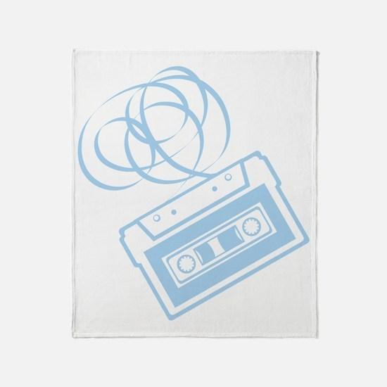 X392A_Tape_LtBlue Throw Blanket