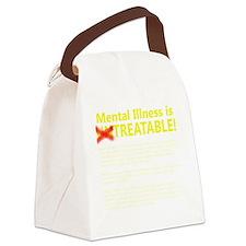 untreatableshirtdark Canvas Lunch Bag