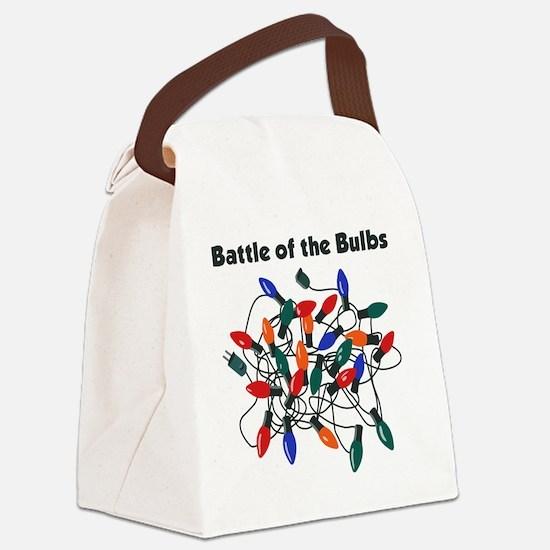 BattleofBulbs Canvas Lunch Bag
