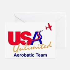 USA Team Logo Greeting Card
