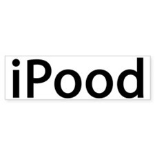 ipood Bumper Sticker