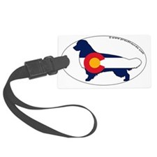 Colorado_Golden Luggage Tag