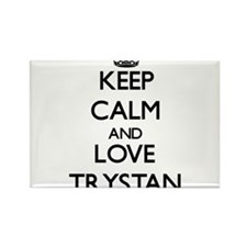 Keep Calm and Love Trystan Magnets