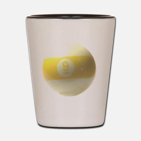 9 ball ornament Shot Glass