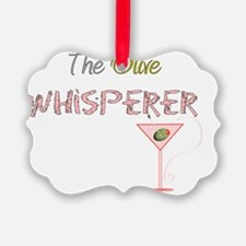 The Olive Whisperer PINK Ornament