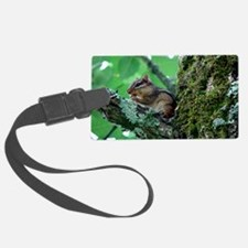 Chipmunk in Tree Luggage Tag