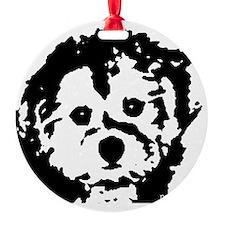 porkie_2bw Ornament