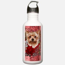Valentine_Red_Rose_Yor Sports Water Bottle