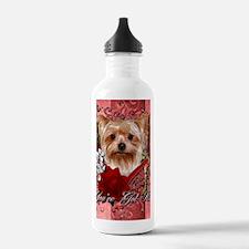 Valentine_Red_Rose_Yor Water Bottle