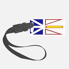 Flag of Newfoundland and Labrado Luggage Tag