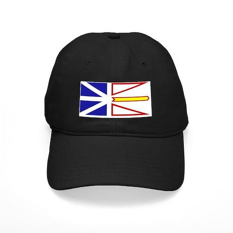 Flag of Newfoundland and Labrador Black Cap