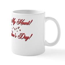 RedRoseValentineInside Small Mug
