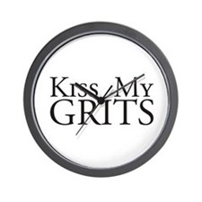 Kiss My Grits Alice Mel's Diner Wall Clock