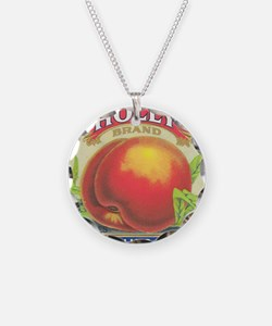 HOLLY PEACHES Necklace Circle Charm