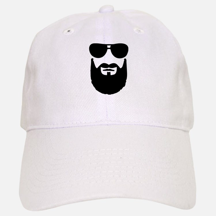 Full beard sunglasses Baseball Baseball Cap