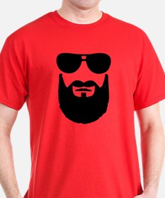 Full beard sunglasses T-Shirt